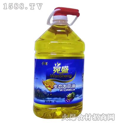 宛盛生态大豆油【5L】