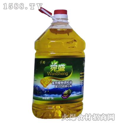 宛盛食用植物调和油【5L】
