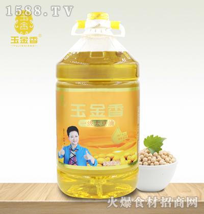 玉金香一级大豆油【5L】