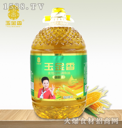 玉金香玉米清香食用植物调和油【5L】