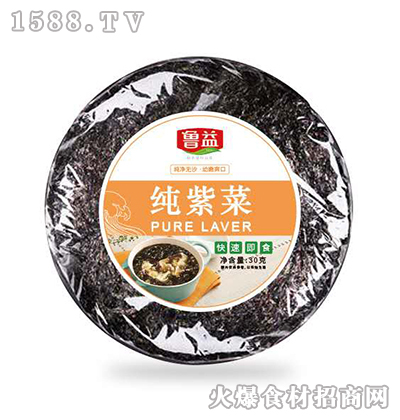 鲁益纯紫菜【30克】