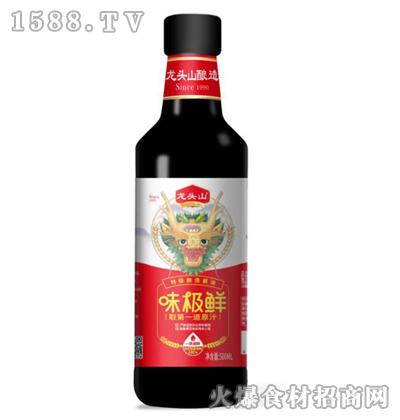 龙头山味极鲜酱油500ml