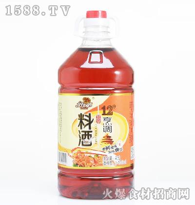 好厨师12度烹调料酒【4.5L】