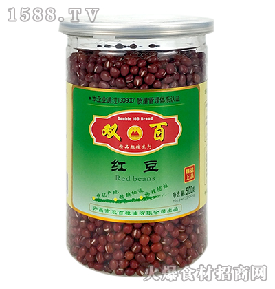 双百红豆(瓶装)【500g】