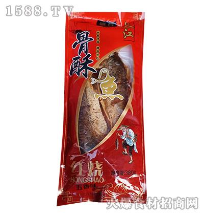 明行红烧骨酥鱼-五香味【380g】