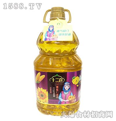 十二喜葵花仁浓香食用植物调和油【5升】