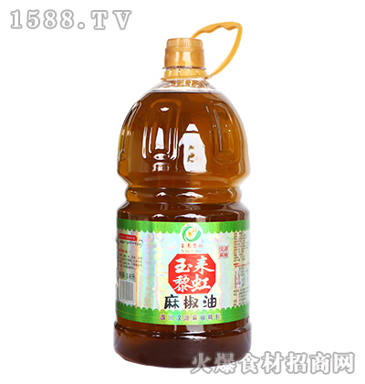 玉耒黎虹麻椒油【2.45升】