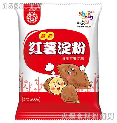 山花红薯淀粉200gX50袋每箱