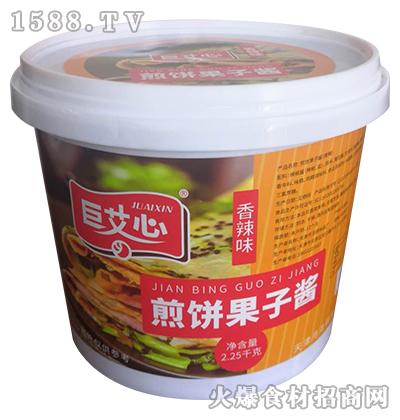 巨艾心煎饼果子酱(香辣味)【2.25kg】
