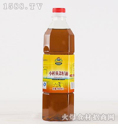辛农民小榨黄菜籽油【900ml】