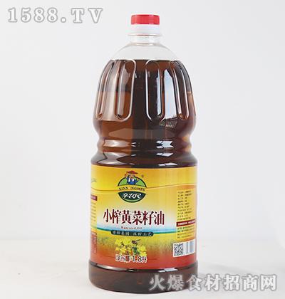 辛农民小榨黄菜籽油【1.8L】