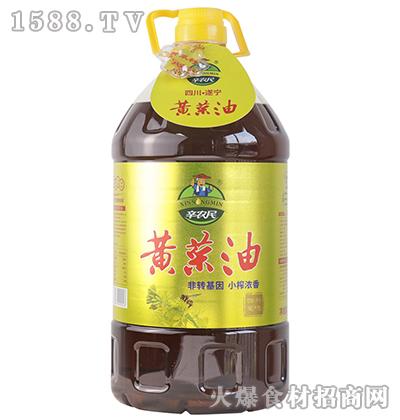 辛农民小榨浓香黄菜油【5L】