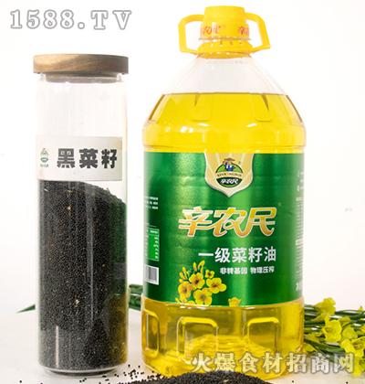 辛农民一级菜籽油【5L】