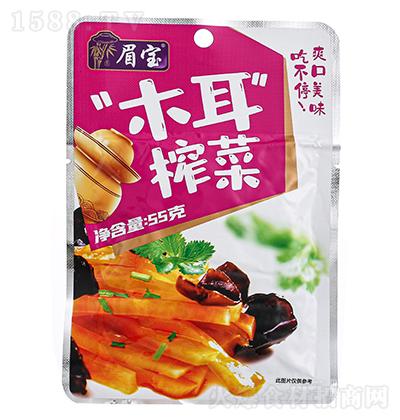 眉宝木耳榨菜【55克】