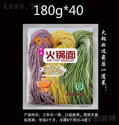 丰佳果蔬火锅面(半干面)【180克】