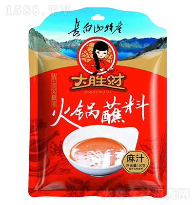 大胜财麻汁火锅蘸料【150克】