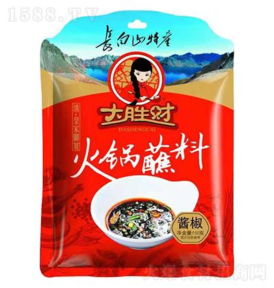大胜财酱椒火锅蘸料【150克】