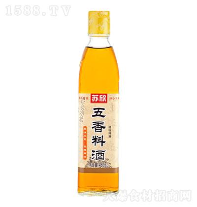 苏欣 五香料酒 480ml
