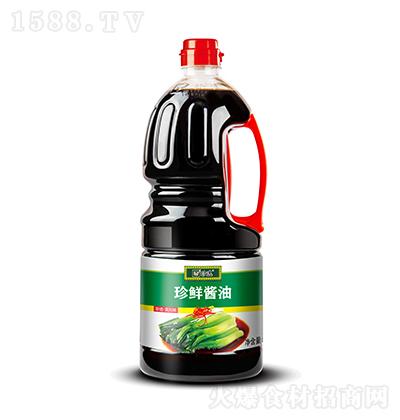 珍选 珍鲜酱油  1.8L