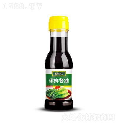 珍选 珍鲜酱油 150ml