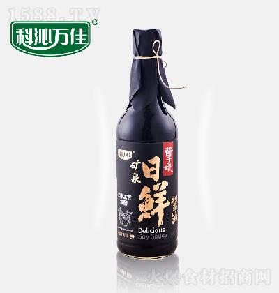 科沁万佳 矿泉日鲜酱油 500g