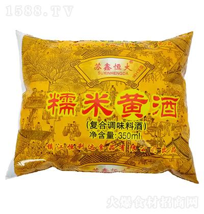 苏鑫恒大 糯米黄酒 350ml