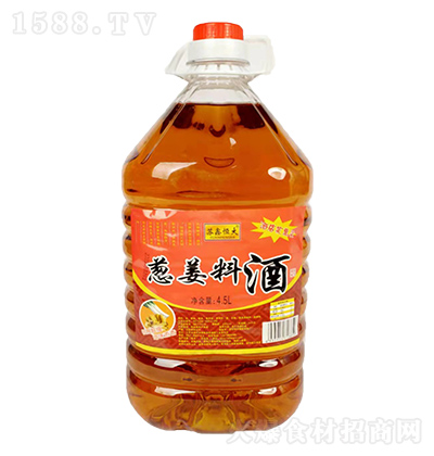 苏鑫恒大 葱姜料酒(酒店实惠装)4.5L