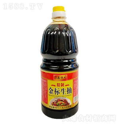 苏鑫恒大 金标生抽(特制)1.8L