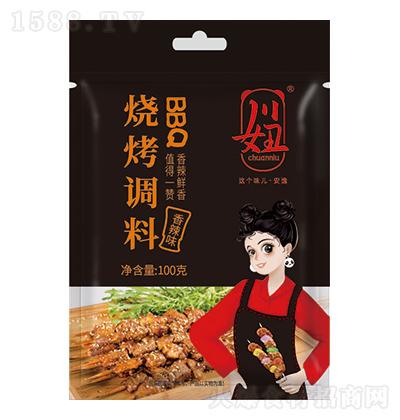 川妞 烧烤调料-香辣味 100克