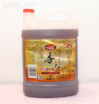 井思博 芝麻调味香油 5L