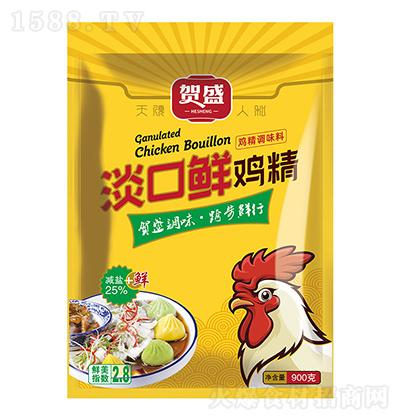贺盛 淡口鲜鸡精 900克