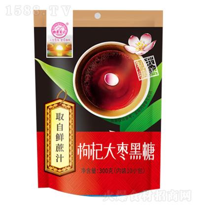 佰年宏云 枸杞大枣黑糖 300克