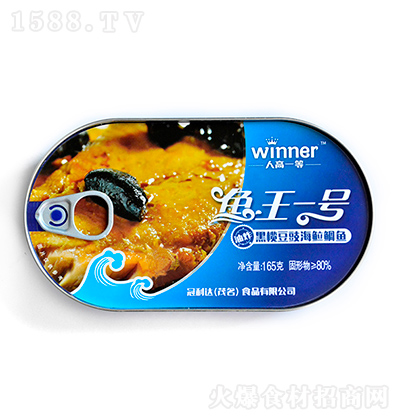人高一等 黑榄豆豉海鲷鱼 165克