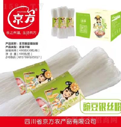 京方 豌豆银丝粉 400g