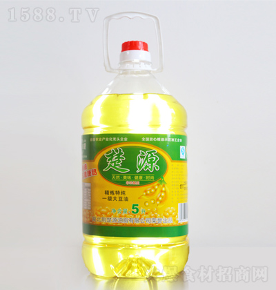楚源 精炼特纯一级大豆油 5L