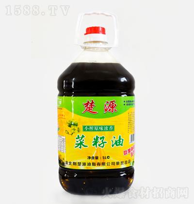 楚源 小榨原味浓香菜籽油 5L