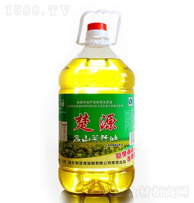 楚源 高山菜籽油 5L