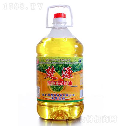 楚源 烹饪菜籽油 5L