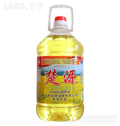 楚源 一级菜籽油 5L