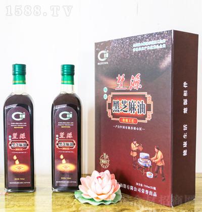 楚源 黑芝麻油 750mlx2瓶