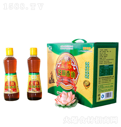 楚源 芝麻香油 400mlx8瓶