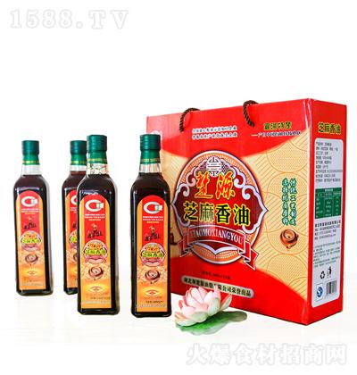 楚源 芝麻香油 500mlx4瓶