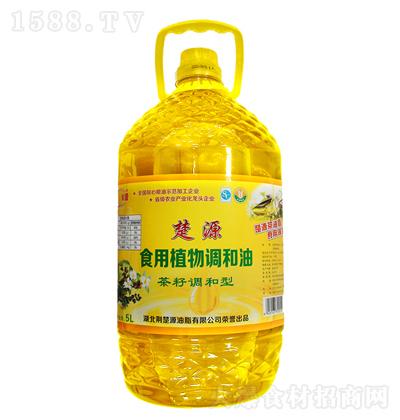 楚源 食用植物调和油(茶籽调和型)5L