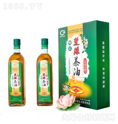 楚源 纯正茶油 750mlx2瓶
