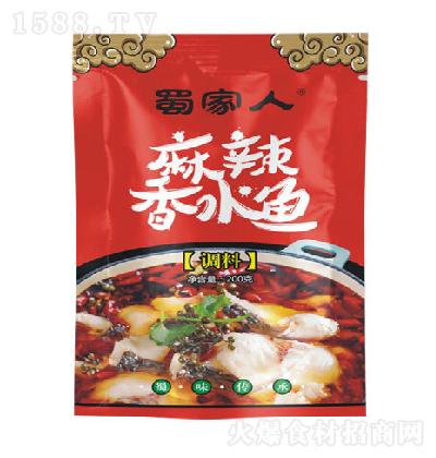 蜀家人 麻辣香水鱼调料 200g
