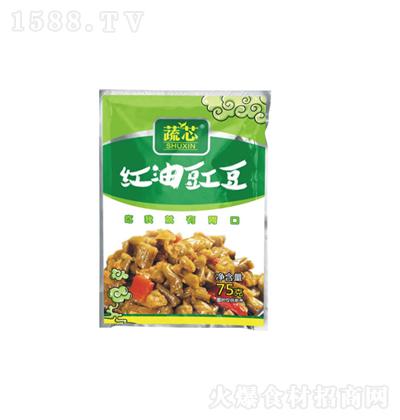 蔬芯 红油豇豆 75g