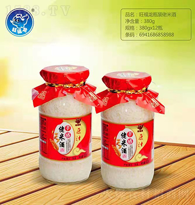 旺福龙 孝感佬米酒 380g