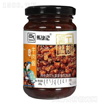 马锦记 五香牛肉酱 200g