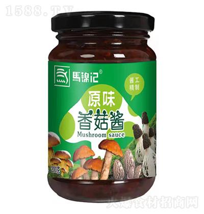 马锦记 原味香菇酱 200克