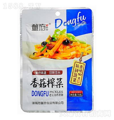 董府味道 香菇榨菜 70克